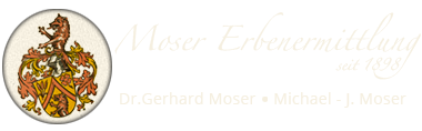 Moser Erbenermittlung